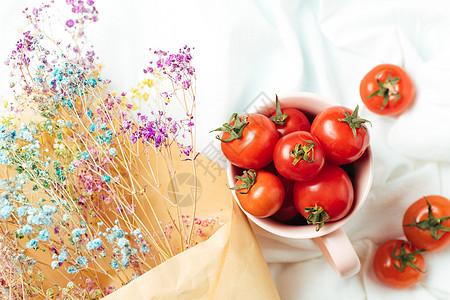 西红柿笔画 步骤