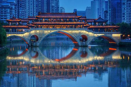 成都九孔桥图片
