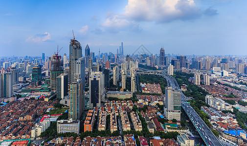 上海城市发展建设风光图片