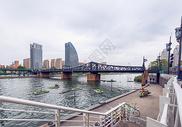 天津海河金汤桥图片