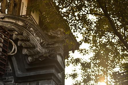 黄龙溪古镇风景图片