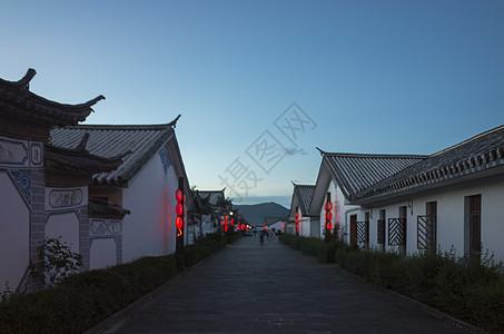 云南白族少数民族民居图片