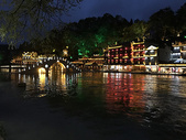 凤凰古城夜景图片