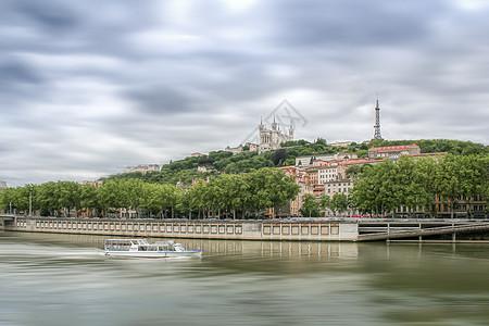 法国里昂风光高清图片