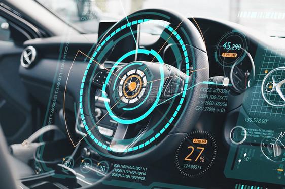智能汽车无人驾驶图片