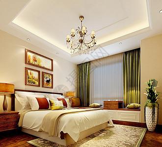 卧室室内装修效果图图片