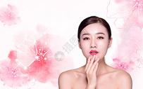女性美容海报图片