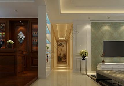 玄关室内设计效果图图片