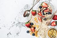 早餐素材五谷燕麦图片