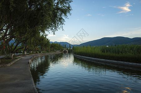 云南白族度假村风景图片
