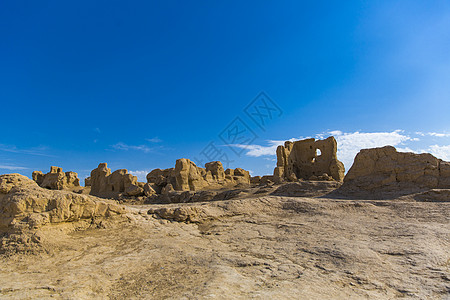 新疆交河故城古迹风光图片