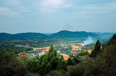 武汉灵泉寺风景图片