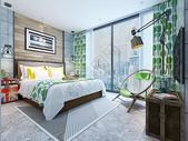 北欧风格卧室效果图图片