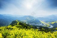 山村的春天图片