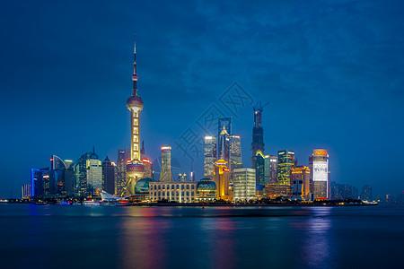 上海东方明珠夜景图片