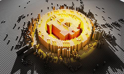 比特币3d立体图图片