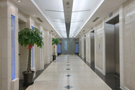 商务楼电梯间图片