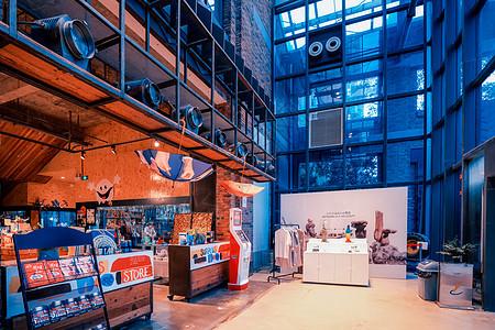 工厂旧厂房改建的文艺范LOFT商业中心图片