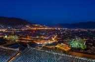 丽江古城夜景图片