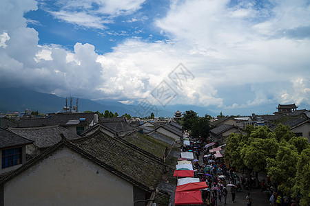云南大理古城风景图片