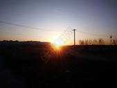 北京早晨的太阳图片