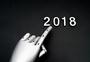 机器手指着2018图片