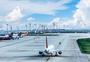 机场起飞图片