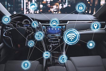 智能汽车网络通信图片