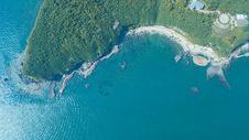航拍北海涠洲岛的火山地质公园图片