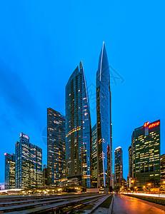 新加坡金融中心图片