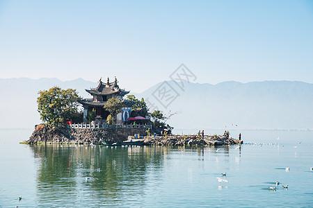 洱海小普陀图片