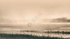 中国风水墨风格山水图片