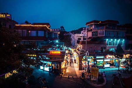 厦门曾厝垵夜晚美景图片