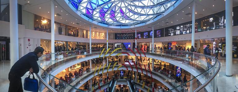 商业中心全景图片