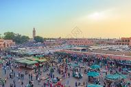 摩洛哥马拉喀什广场,图片