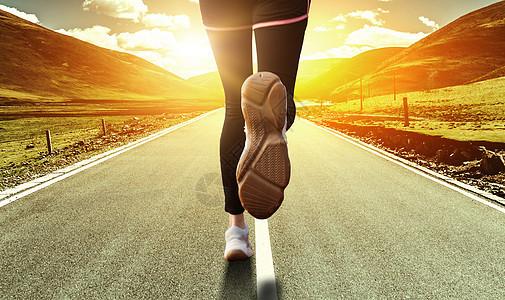奔跑的追逐梦想图片