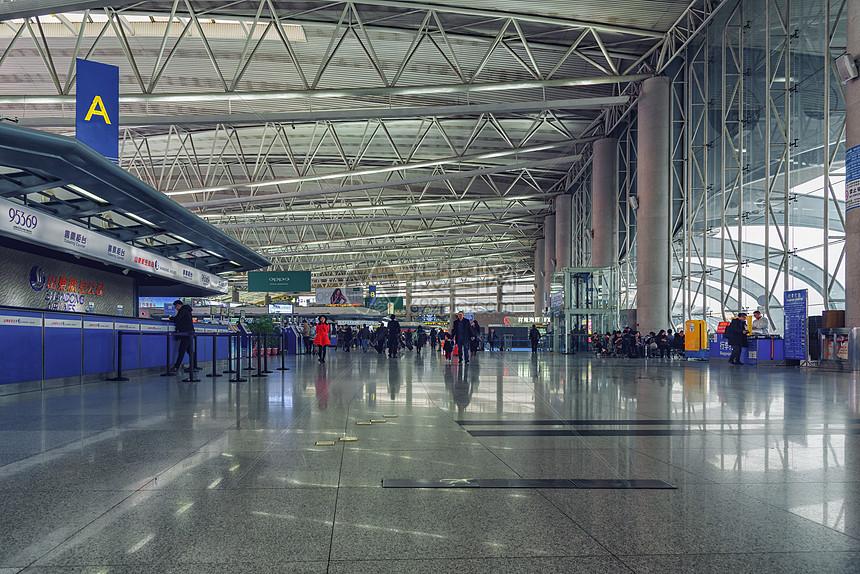 机场候机大厅图片