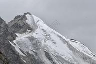 新疆天山山峰雪峰冰川图片
