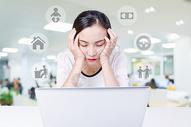女性家庭压力图片