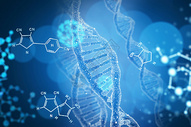 医疗科技基因背景图片