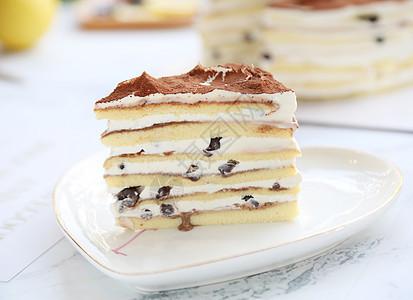 千层生日蛋糕西点烘焙图片