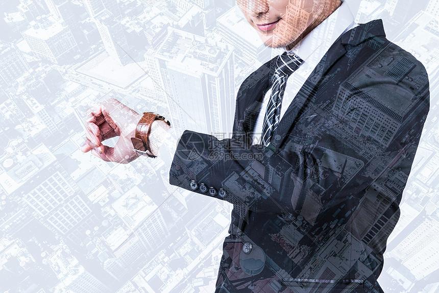 商务创意成功人士图片