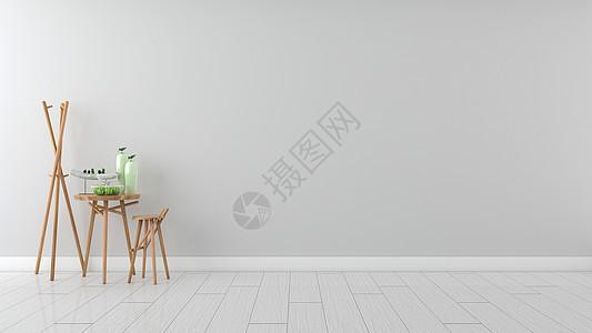 简约清新灰色系室内装饰家居背景图片