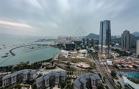 深圳湾码头图片
