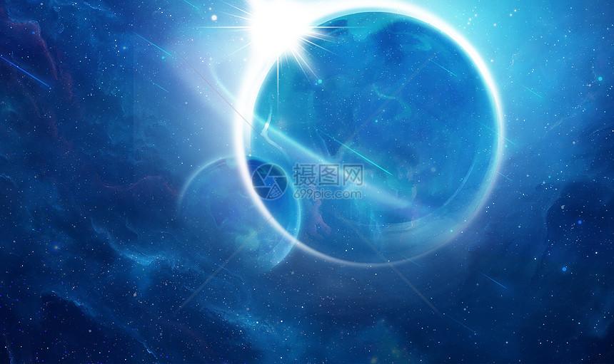外太空地球背景图片