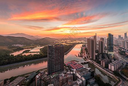 深圳河界高清图片
