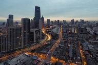 天津城市的黎明图片
