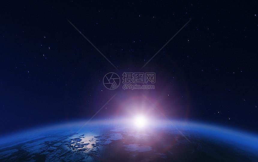外太空星球背景图片