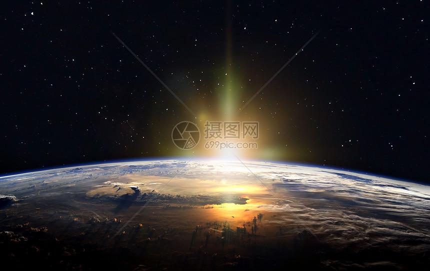 地球表面背景图片