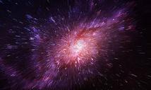 放射星空背景图片
